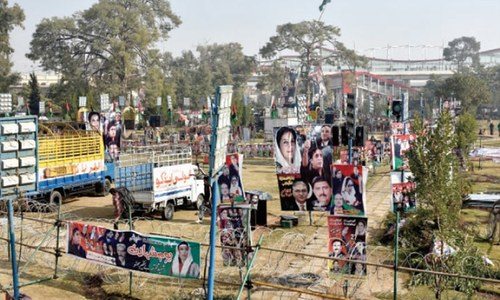 PPP readies itself for first power show in Liaquat Bagh since Benazir's assassination