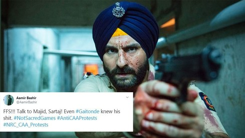 Saif Ali Khan's Sacred Games co-star calls out his ignorance
