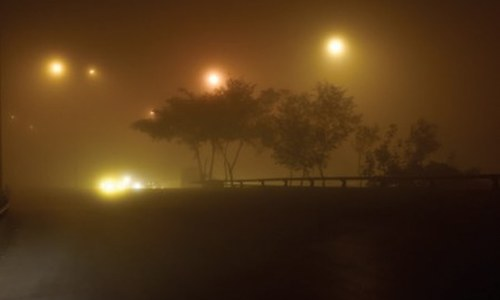 Dense fog continues to blanket twin cities
