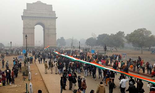 Use of facial recognition in New Delhi rally sparks privacy fears
