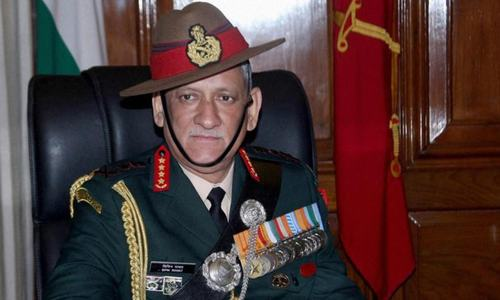 Rawat becomes India's first chief of defence staff