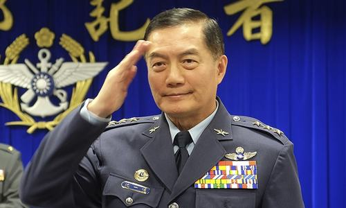 Taiwan's top military chief killed in helicopter crash