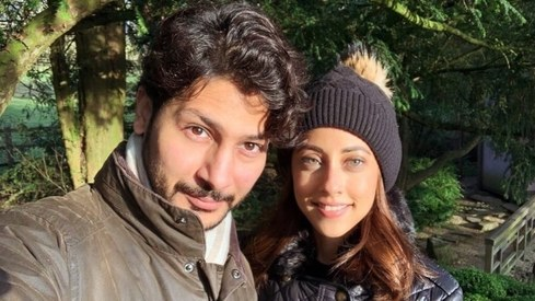 Ainy Jaffri and husband announce they've had a baby boy