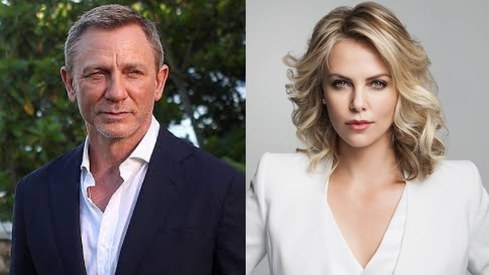 Daniel Craig and Charlize Theron among Golden Globes presenters