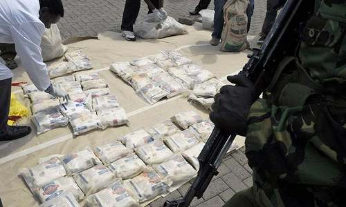 Drug trafficking, consumption termed a national security threat