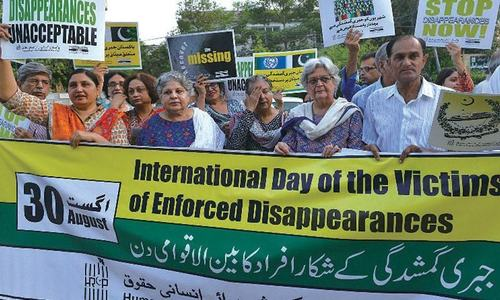 VIEW FROM THE COURTROOM: No exclusive law yet to check enforced disappearances