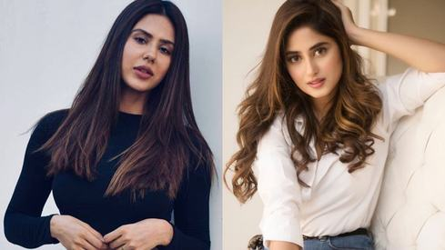 Indian model Sonam Bajwa says she's the biggest Sajal Aly fan