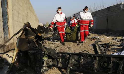 Ukrainian airliner crashes after take-off in Iran, killing all 176 aboard