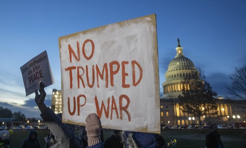 House votes to rein in Trump's war powers as US-Iran tensions stay high