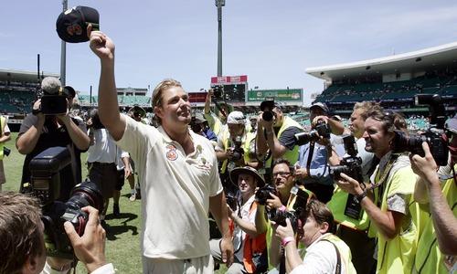 Cricket legend Shane Warne's cap raises nearly Aus$1m for bushfire relief efforts
