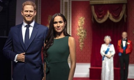 Madame Tussauds removes wax figures of Prince Harry and Meghan from its Royal Family set