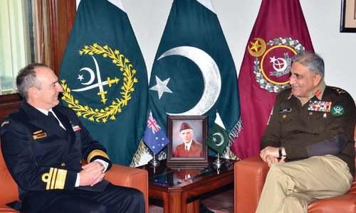 Australian defence official calls on COAS