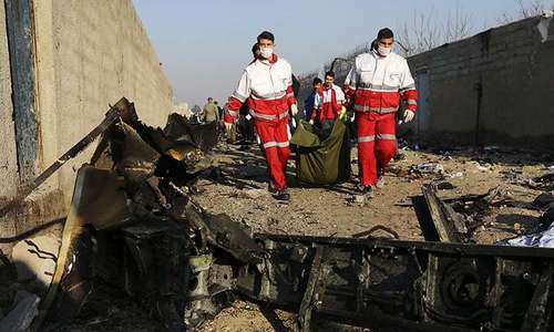 Punishment, compensation demanded for plane downed by Iran