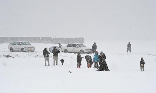 14 die as snowfall, rain wreak havoc in Balochistan