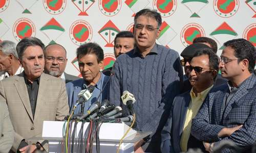 MQM-P plays hard to get in talks with govt team