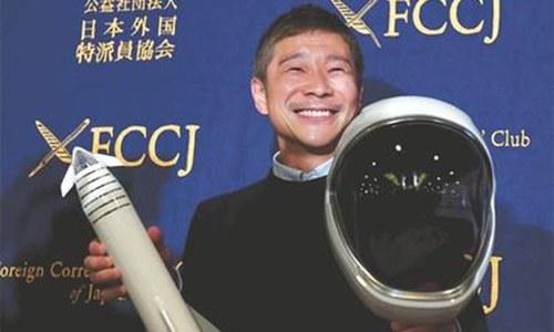 Japanese billionaire seeks girlfriend for Moon trip