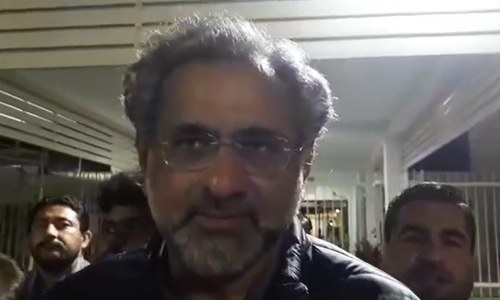 Former PM Abbasi says tenure bills were passed in 'a bit of a hurry'