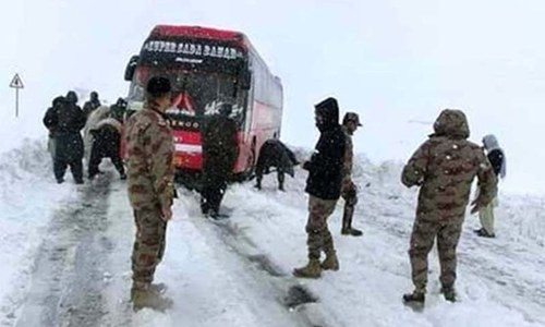 Relief efforts continue in Balochistan amid biting cold