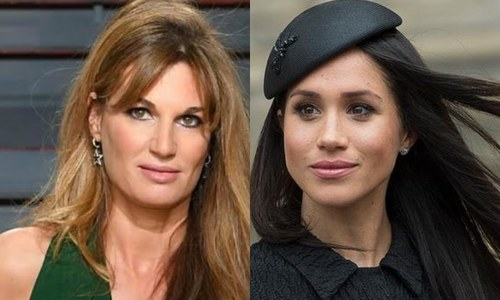 Jemima Goldsmith tells Meghan Markle she knows what it's like to marry a national hero