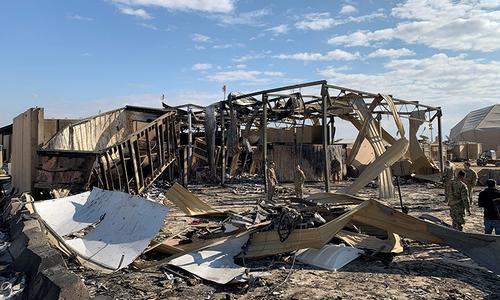 ایرانی میزائل حملوں میں 11فوجی زخمی ہوئے، امریکا کی تصدیق
