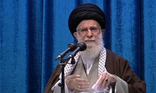 ٹرمپ بہروپیا ہے جو ایرانی عوام کو دھوکا دے گا، آیت اللہ خامنہ ای