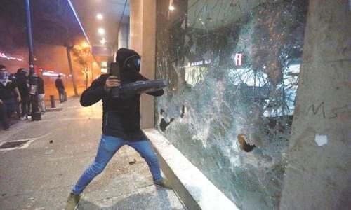 Frustrated Lebanese depositors turn rage on crisis-hit banks