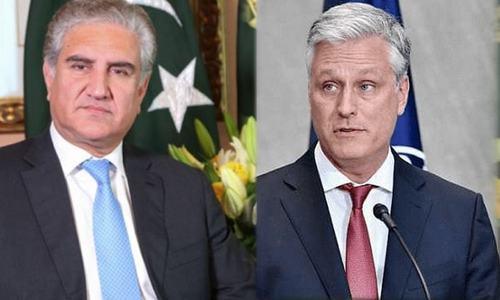 وزیر خارجہ کی امریکی مشیر قومی سلامتی سے ملاقات، خطے کی صورتحال پر تبادلہ خیال