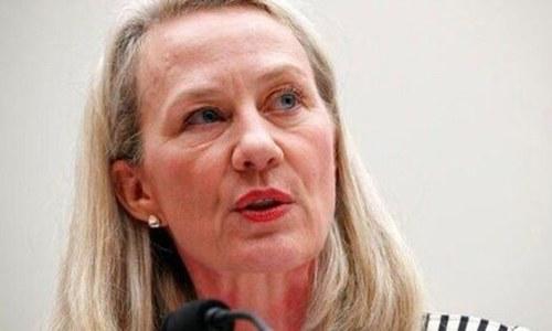 امریکی نائب معاون وزیرخارجہ ایلس ویلز 4 روزہ دورے پر پاکستان پہنچ گئیں