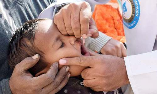 Year's first polio case reported in KP's Lakki Marwat