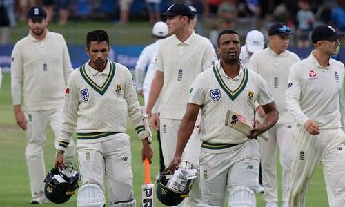 تیسرا ٹیسٹ: جنوبی افریقہ کے خلاف انگلینڈ کی پوزیشن مستحکم
