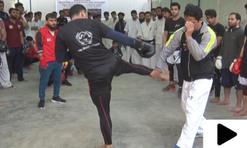کراچی میں جدید مارشل آرٹس کی تربیت دینے کے لیے ورکشاپ کا انعقاد