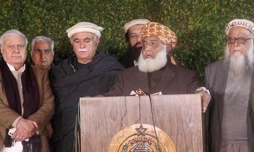 مولانا فضل الرحمٰن کا 19 مارچ سے 'آئین پاکستان تحفظ تحریک' کا اعلان