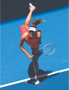Sharapova hits all-time low at Australian Open in first-round exit