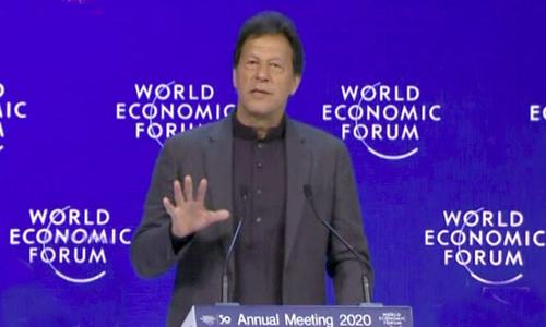 PM Imran addresses World Economic Forum special session