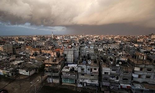 اسرائیلی فوج کی فائرنگ سے 3 فلسطینی جاں بحق