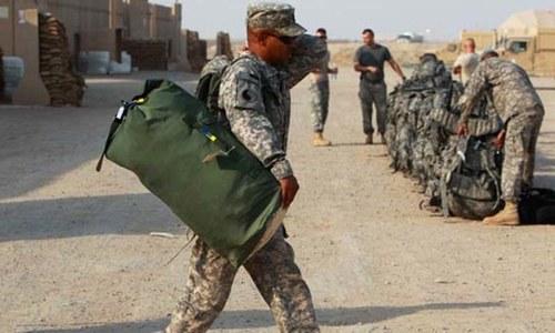 ٹرمپ کی عراقی ہم منصب سے ملاقات: امریکی فوج کو نہ ہٹانے پر اتفاق