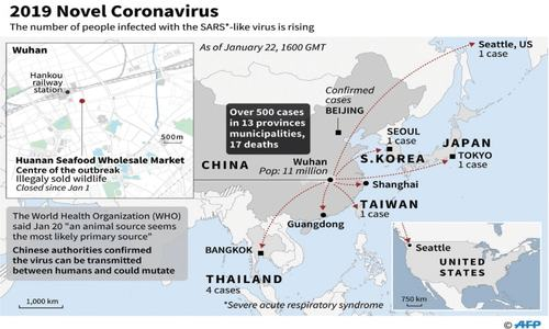 Death toll from new, deadly virus jumps to 17