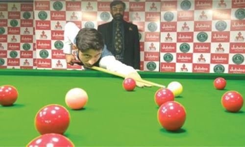 Haris, Umer Farooq reach U-21 snooker final