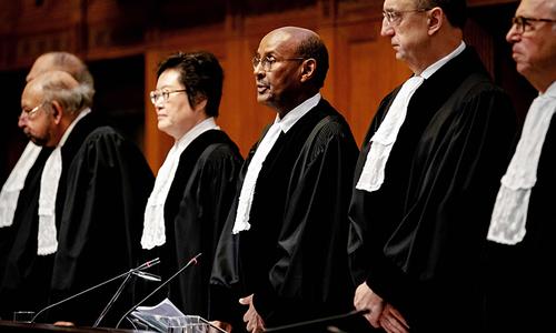 روہنگیا مسلمانوں کی نسل کشی روکنے کیلئے اقدامات کیے جائیں، عالمی عدالت انصاف
