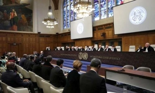Govt urged to refer Kashmir issue to International Court of Justice in wake of Myanmar verdict
