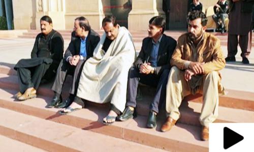 پنجاب اسمبلی کی تاریخ میں پہلی مرتبہ کسی رکن کی بھوک ہڑتال