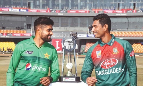 Bangladesh win toss, elect to bat in 'do or die' T20 series against Pakistan in Lahore