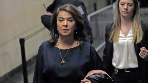 Sopranos star Annabella Sciorra testifies in court that Harvey Weinstein raped her