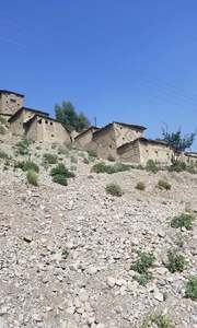 Houses built on a mountaintop in Kotkai.