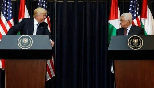 فلسطین نے ٹرمپ کے امن منصوبے پر اسرائیل، امریکا کو خبردار کردیا