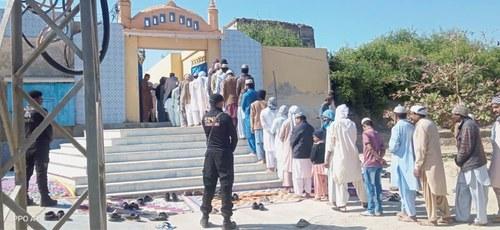 Luari Sharif shrine unsealed after 36 years of closure