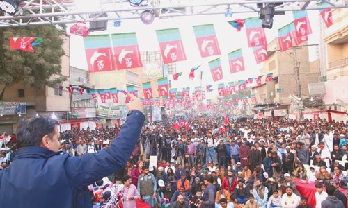 No one can dare divide Sindh, Kamal tells people of Larkana