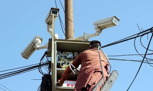 Police to install 10,000 surveillance cameras in Karachi