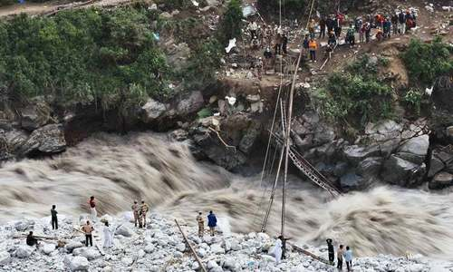 Warning system termed vital for reducing flood devastation in Chitral