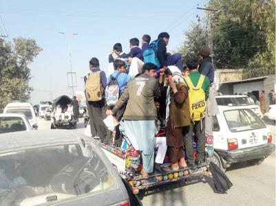 Overloaded school vans constant threat to innocent lives